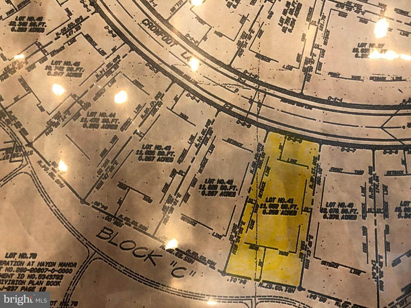 Land for Sale at CROWFOOT LANE LOT #41 East Petersburg, Pennsylvania 17520 United States