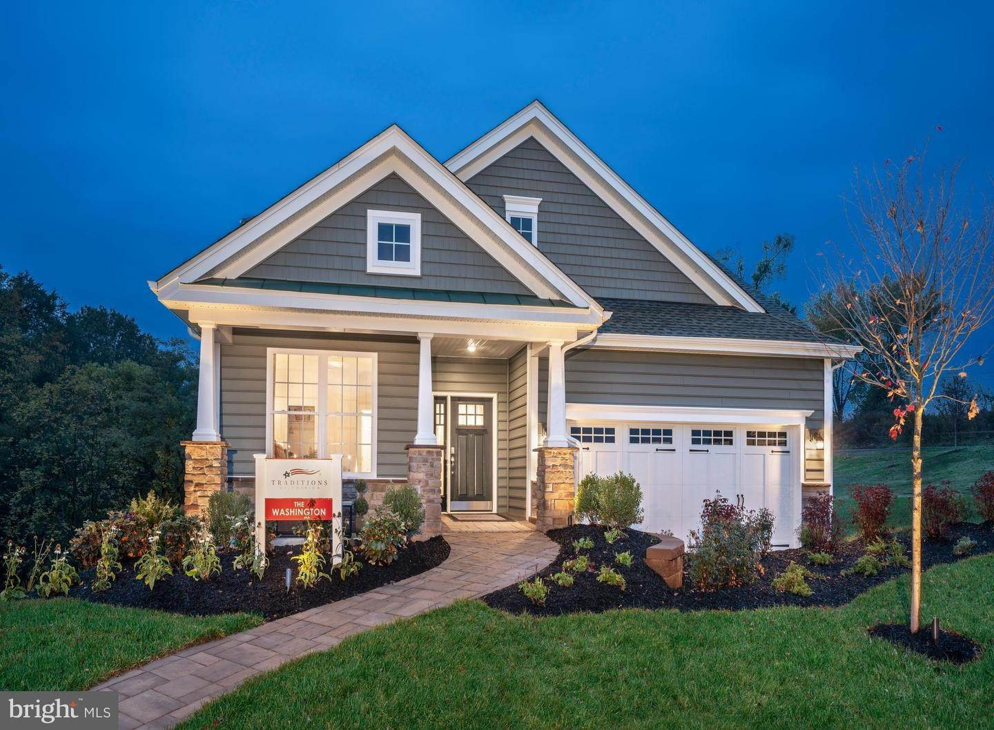 Residential for Sale at 820 FOUNDERS WAY #WASHINGTON MODEL East Petersburg, Pennsylvania 17520 United States